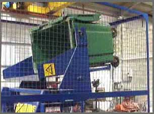 Bin Lift Weigher