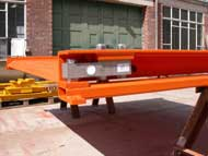 Loadcell on tandem axle portable weighbridge
